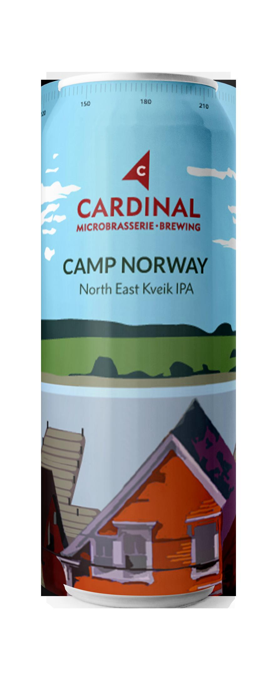 Camp Norway North East Kveik IPA